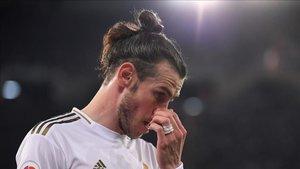 Bale, ausencia en el entreno del Real Madrid de este miércoles a causa de una gastroenteritis