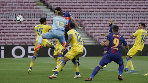 El Barça jugó contra el UD Las Palmas