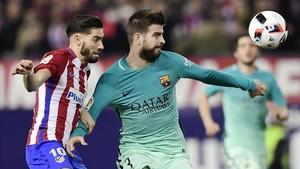 El Barcelona está jugando un partido muy serio en el Calderón