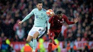 El Bayern y el Liverpool empataron sin goles