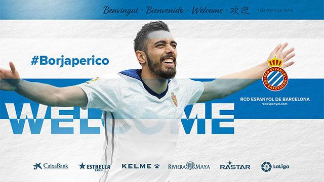 Borja Iglesias, nuevo jugador del RCD Espanyol