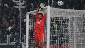 Buffon encontró al menos consuelo no encajando ningún gol ante el Barça