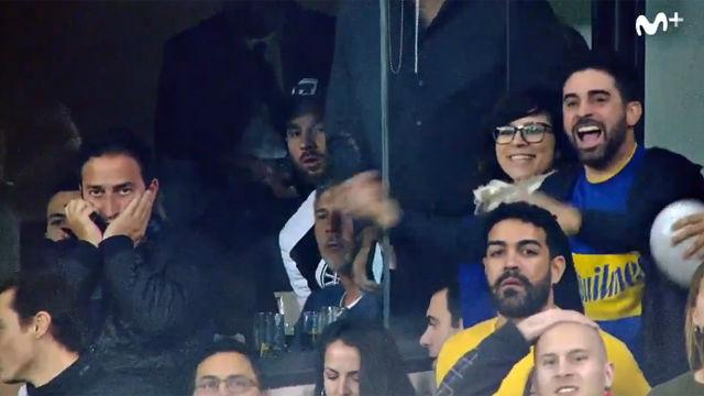 Captan cómo reaccionó Messi al gol de Boca
