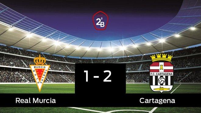 El Cartagena doblegó al Real Murcia por 1-2