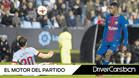 Dembélé disputa un balón ante Sergi Gómez en el Celta-Barça de la Copa 2017/18
