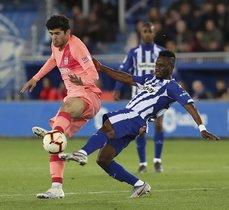 La derrota del Alavés ante el Barcelona lo deja, actualmente, fuera de puestos internacionales
