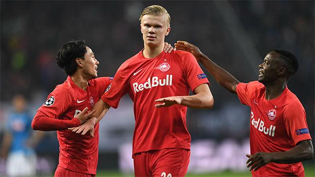 No digan gol, diga Haaland: así cerró la goleada del Salzburgo