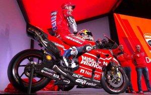 Dovizioso, esperanzado con la nueva Ducati