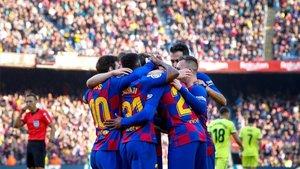 El equipo ganó pero no convenció al Camp Nou