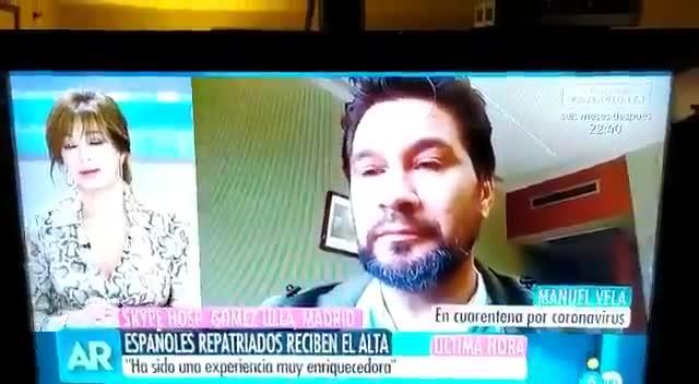 Un español del Gómez Ulla da un cortazo a Ana Rosa Quintana