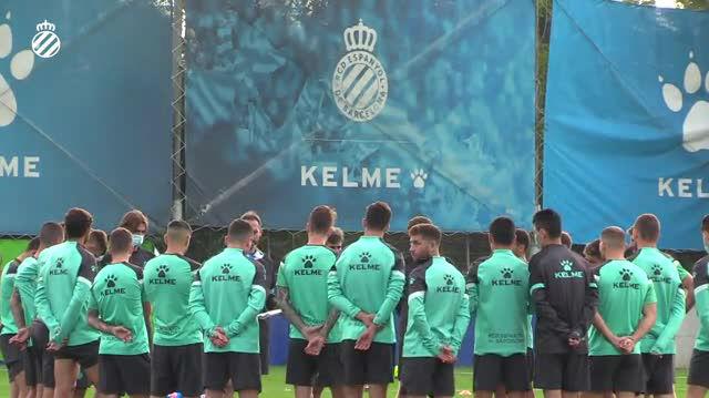 El Espanyol sigue preparando el partido ante el Sabadell