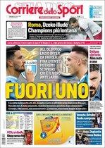 Esta es la portada de Il Corriere dello Sport del domingo 16 de febrero