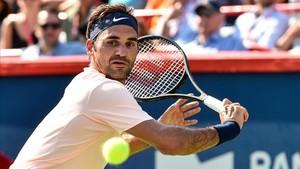 Federer se metió en la final de Montreal y busca su tercer título