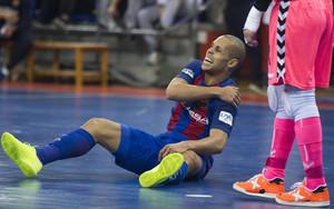 Ferrao sufrió una lesión en el hombro frente a Movistar Inter