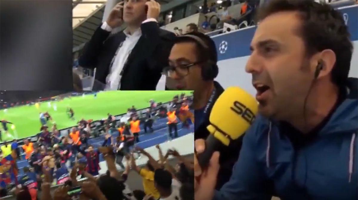 ¡El fútbol hecho perfección! Con el Tridente, el Barça conquista Europa. Revive la vibrante narración del gol de Neymar en Berlín
