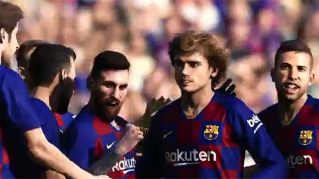Griezmann ya ha marcado su primer gol con la camiseta del Barça