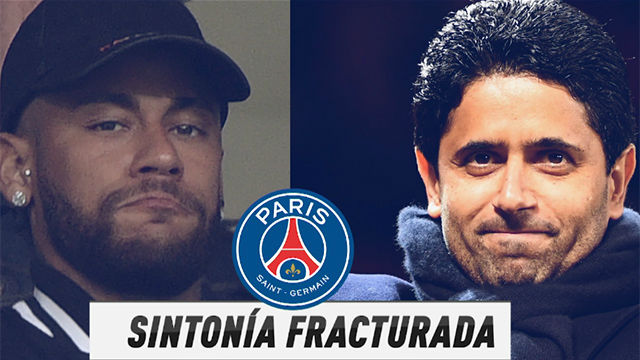 Guerra total entre Neymar y el PSG