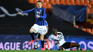 Ilicic fue el mejor jugador de un Atalanta que fue superior al Valencia