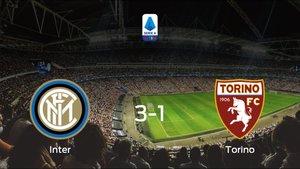 El Inter consigue la victoria en casa ante el Torino (3-1)