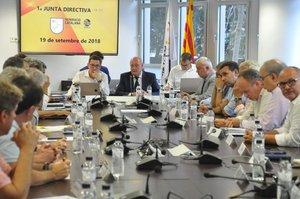 Joan Soteras encabeza la reunión de la Junta Directiva