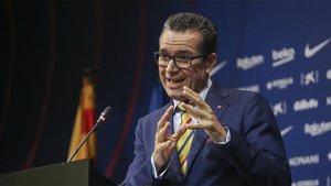 Josep Vives defendió la posición de la junta directiva