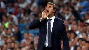 Julen Lopetegui se estrenó con victoria en la Liga con el Real Madrid