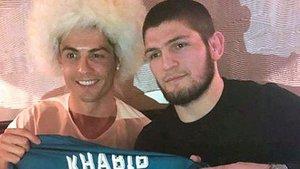 Khabib y Cristiano mantienen una gran amistad