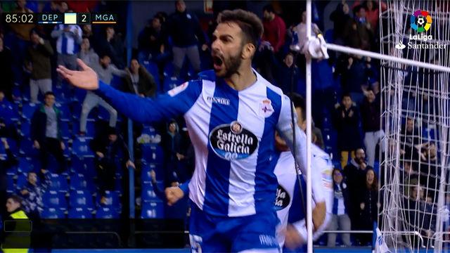 LALIGA | Deportivo - Málaga (3-2): Adrián hace soñar al Depor