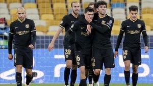 Los suplentes del Barça ganaron en Kiev