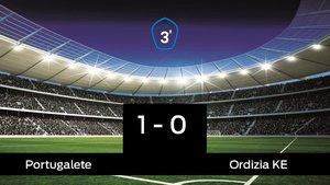 Los tres puntos se quedaron en casa: Portugalete 1-0 Ordizia KE