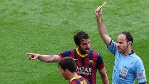 Mateu Lahoz no solo anuló un gol legal a Messi, sino que le amonestó