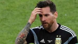Messi acabó abatido después del Argentina-Islandia (1-1)
