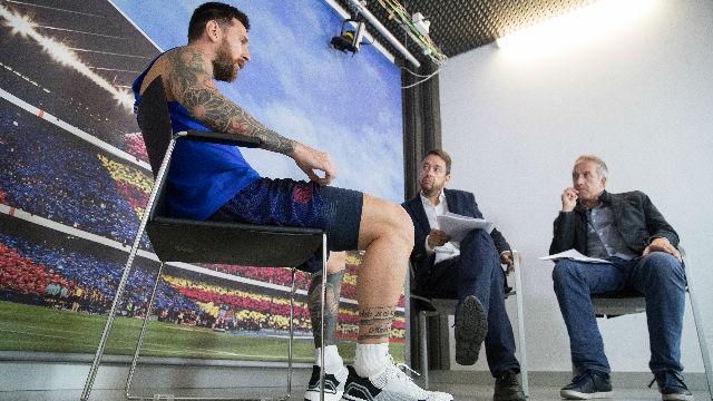 Messi se emocionó al recordar a la hija de Luis Enrique