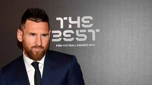Messi fue el gran protagonista del The Best
