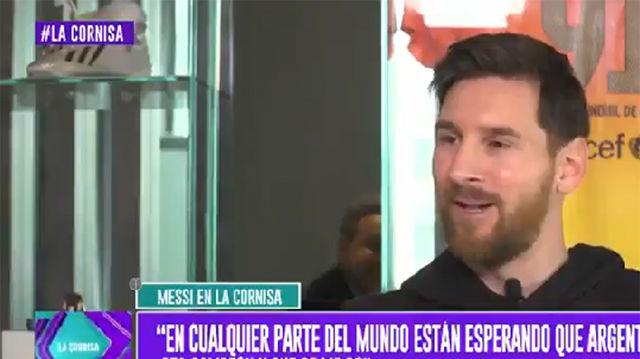 """Messi: """"El Mundial está en mi cabeza pero también tengo cosas importantes en Barcelona"""""""
