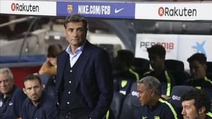 Michel, en su última visita al Camp Nou