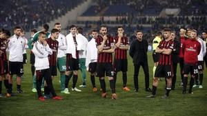 El Milan está pendiente de la decisión del TAS
