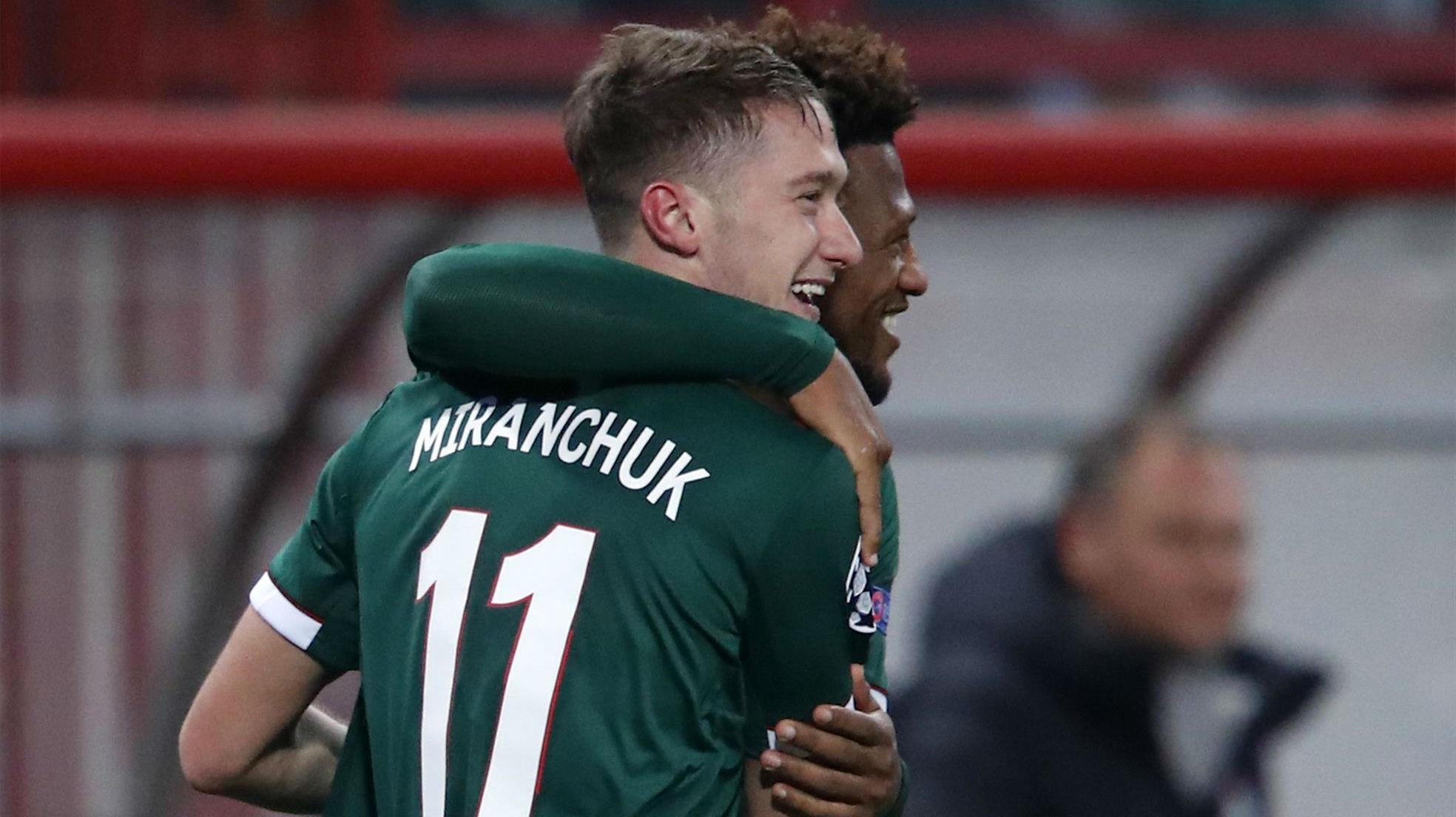 Miranchuk dio alas al Lokomotiv poniendo las tablas momentáneas