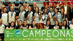 Octavo título consecutivo para el Astralpool Sabadell