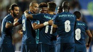 El Oporto celebró el triunfo