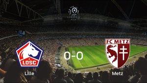 El OSC Lille y el FC Metz se reparten los puntos tras empatar a cero