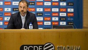 Oscar Perarnau avanzó la llegada de refuerzos, solo si mejoran la actual plantilla del Espanyol.