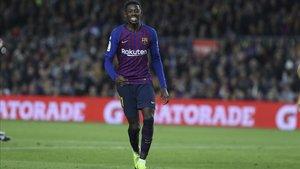 Ousmane Dembélé juega el derbi Espanyol - FC Barcelona