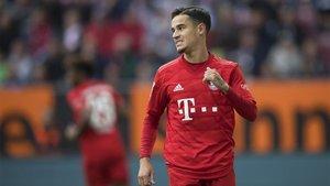 Philippe Coutinho está triunfando en su cesión al Bayern Múnich