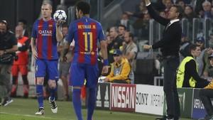 Posiblemente ante la Juventus fue el último partido de Mathieu vistiendo de blaugrana