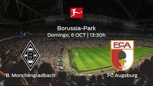Previa del encuentro: el Borussia Monchengladbach recibe al FC Augsburg en la séptima jornada