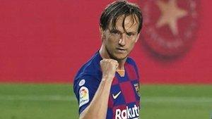 Rakitic, jugador del FC Barcelona desde la temporada 2014-15