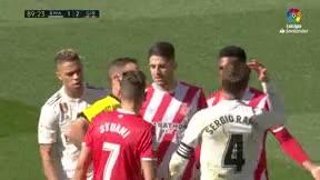 Ramos terminó expulsado y podrá jugar el clásico de Liga
