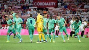 El Real Madrid ganó en el Sánchez Pizjuán (0-1)
