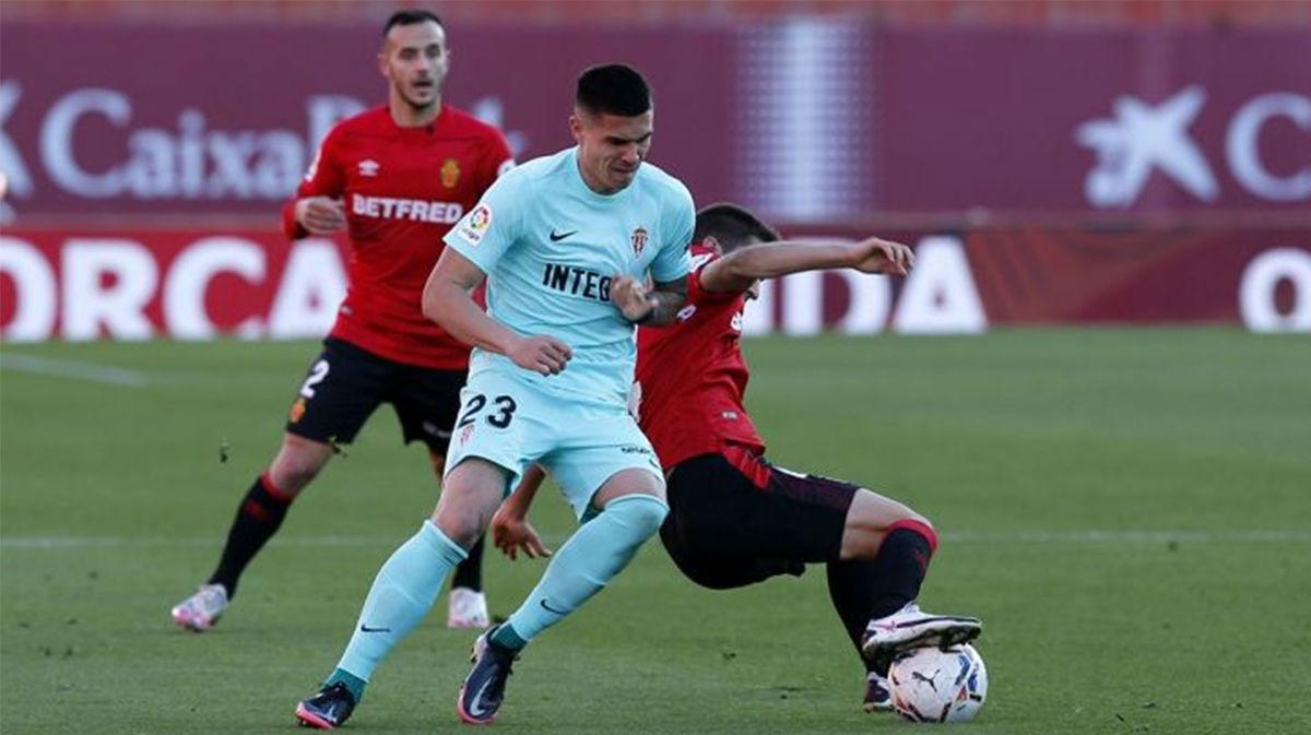 Reparto de puntos entre Mallorca y Sporting de Gijón